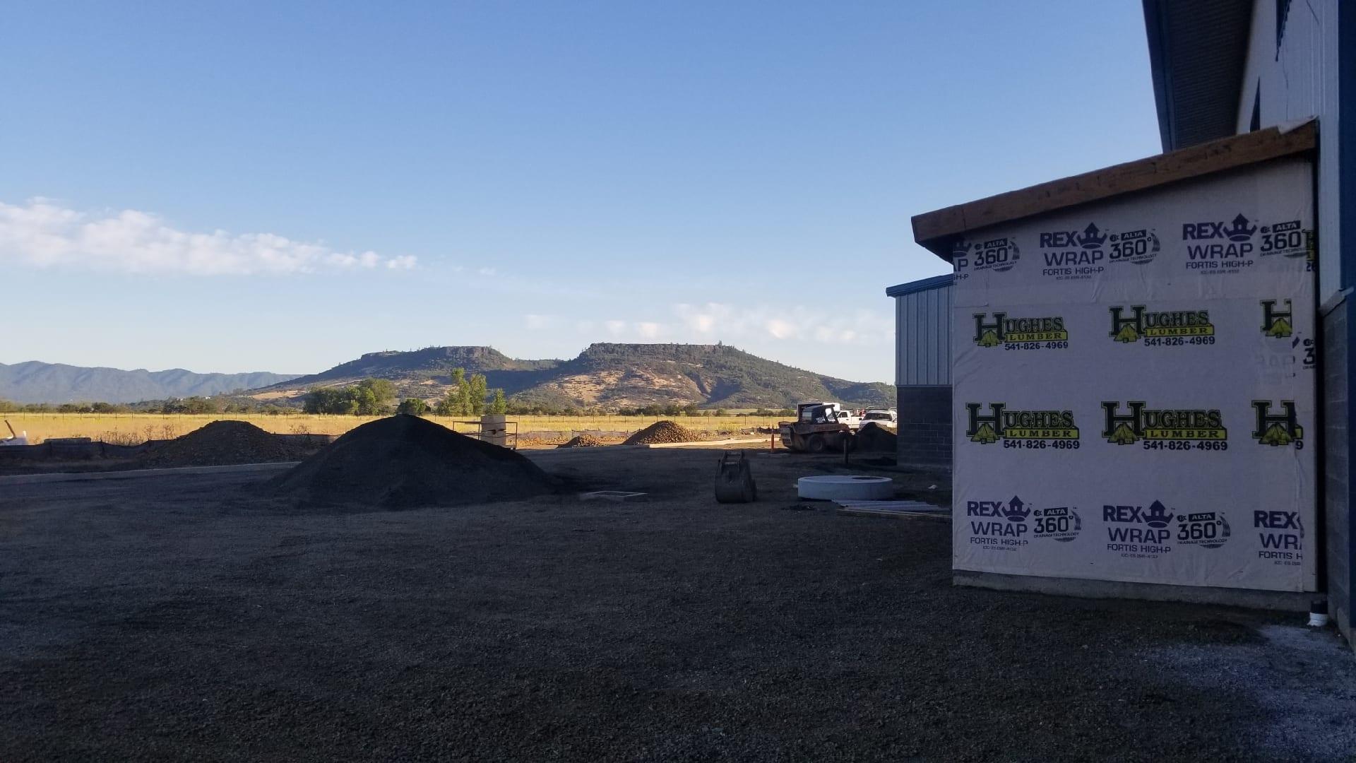 Rogue Valley Precast building near Table Rock