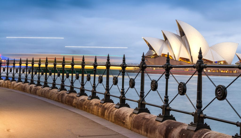 The Iconic Sydney Opera House to illustrate Advantages Of Precast Concrete Structures.